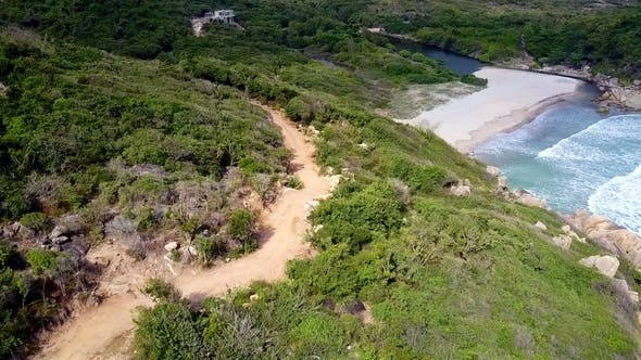 Thumbnail for Ground Road on Hill and Blue Lagoon Beach