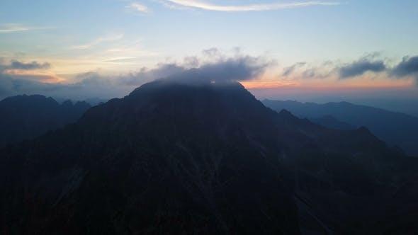 Thumbnail for Sunset Over Gerlachov Peak in High Tatras