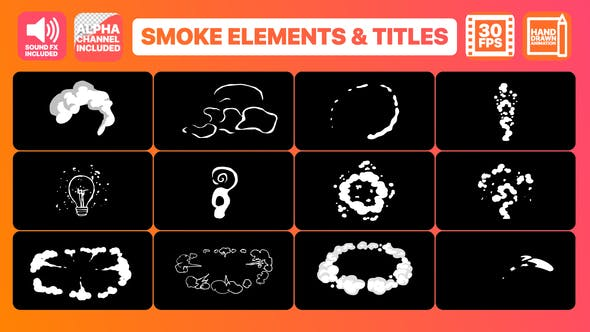 Thumbnail for Flash FX Smoke Elements And Titles