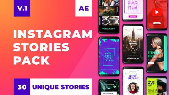 Thumbnail for Instagram Stories Pack