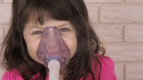A Sick Child with an Inhaler