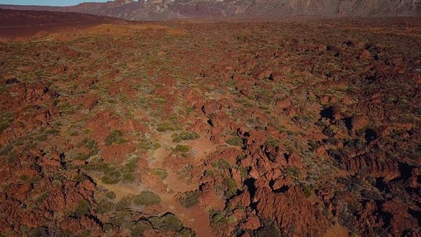 Thumbnail for Aerial View of the Teide National Park