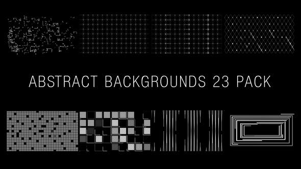 Abstract Backgrounds 23 Pack