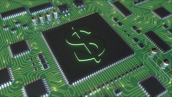 Thumbnail for Chipsatz mit Dollar-Symbol
