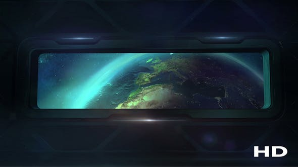 Thumbnail for Earth From The Porthole Of The Spaceship