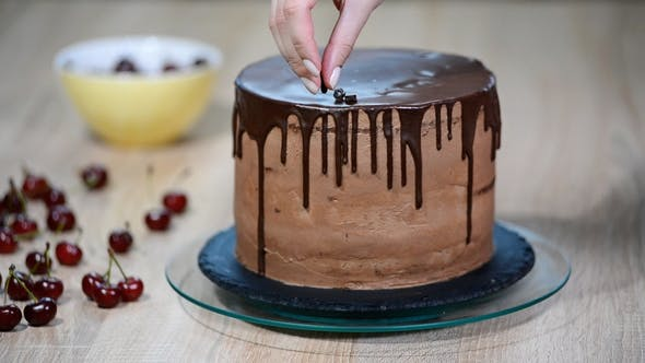 Thumbnail for Baking and Decorating Chocolate Cake
