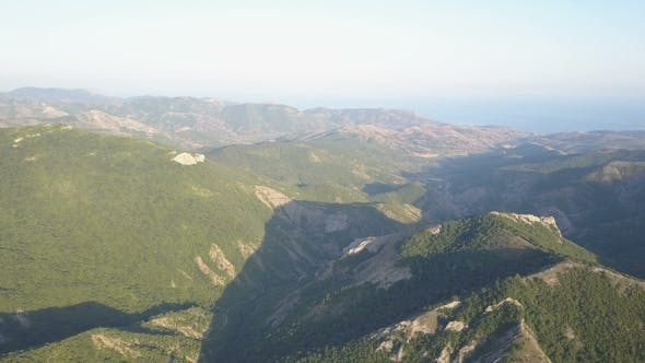 Thumbnail for Amazing Aerial View of Mountains in Crimea.