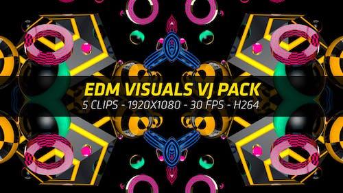 EDM Music Visuals VJ Pack 4