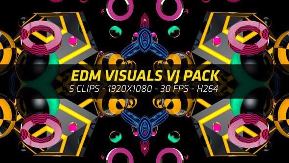 Thumbnail for EDM Music Visuals VJ Pack 4