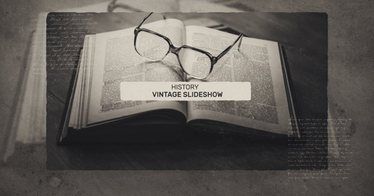 Download Vintage History Slideshow by R-motion