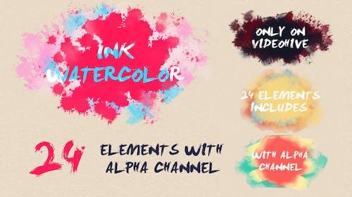 Ink Watercolor