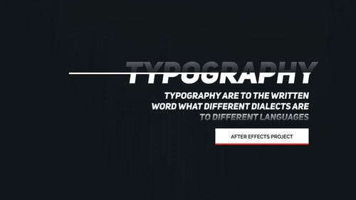 Animated Typography