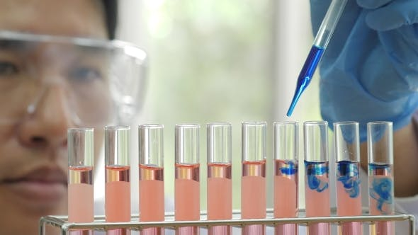 Thumbnail for Scientists Performs Medical Tests in Laboratory