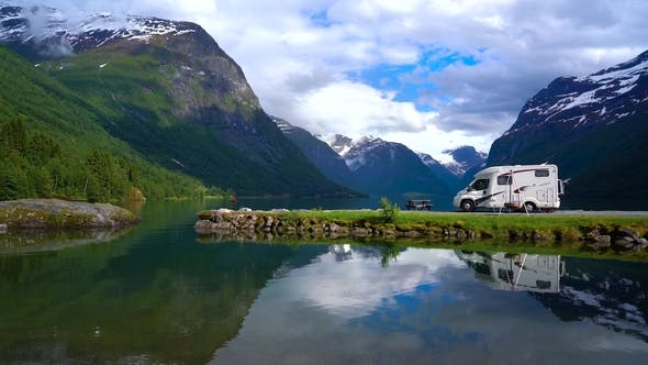 Thumbnail for Family Vacation Travel RV, Holiday Trip in Motorhome