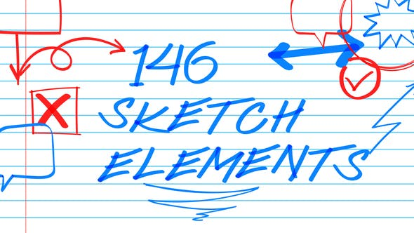 Thumbnail for 146 Sketch Elements