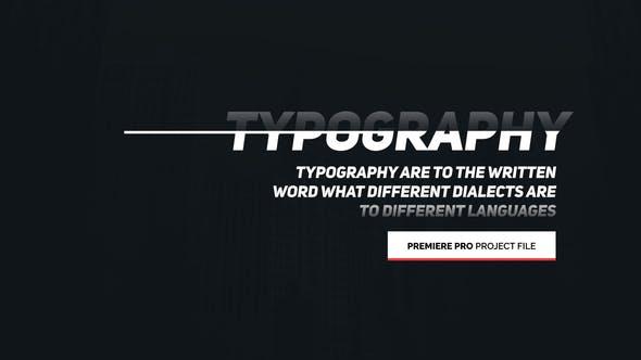 Thumbnail for Typographie animée - pour Premiere Pro | Essential Graphiques