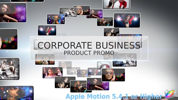 Thumbnail for Corporate Business Product Promo - Apple Motion
