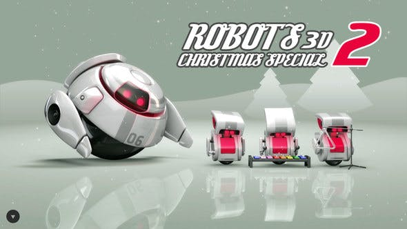 Thumbnail for Robots 3D Christmas Special II