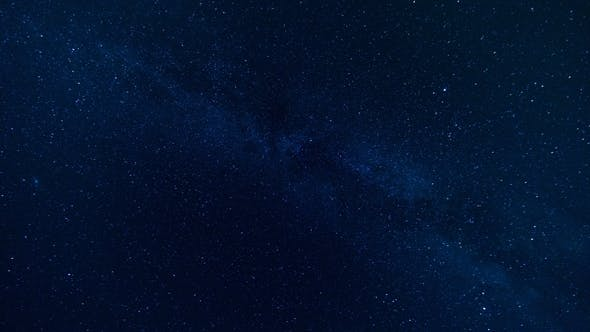 Thumbnail for Star , Milky Way Galaxy Moving Across the Night Sky