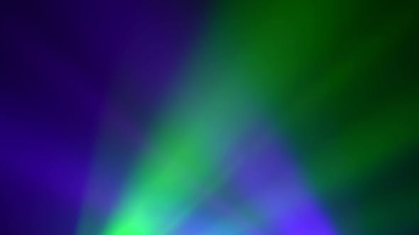 Thumbnail for Multicolored Rays of Light Blink Against a Black Background