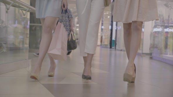 Thumbnail for Fashion Womens Legs  in Shopping Center