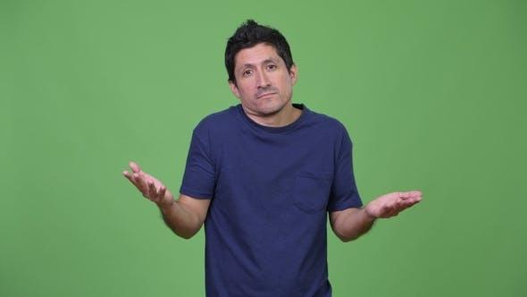 Thumbnail for Hispanic Man Shrugging Shoulders