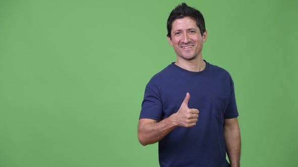 Thumbnail for Hispanic Man Giving Thumbs Up