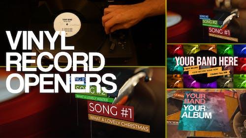 Vinyl Record Openers