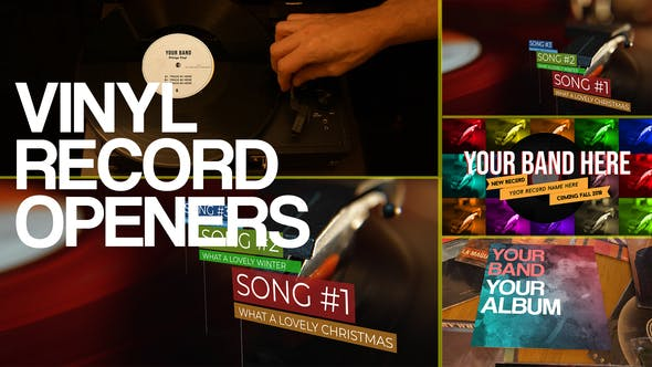 Thumbnail for Vinyl Record Openers