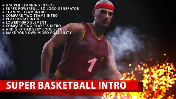 Thumbnail for Super Basketball Intro