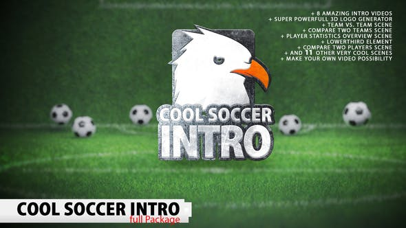 Thumbnail for Cool Soccer Intro