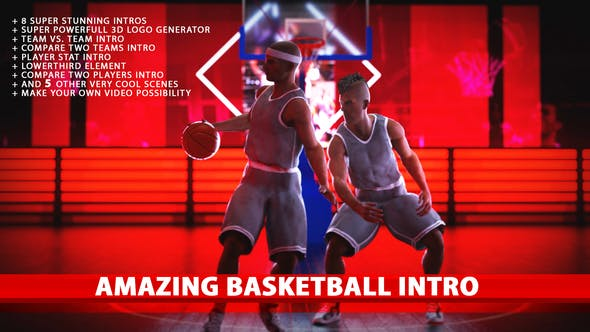 Thumbnail for Amazing Basketball Intros