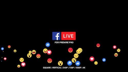 Фейсбук в прямом эфире