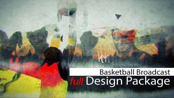Thumbnail for Basketball Broadcast Design