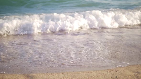 Thumbnail for Shore and Sea Waves Rolling in
