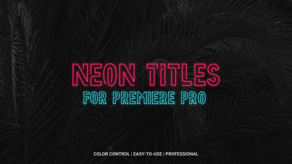 Thumbnail for Neon Titles