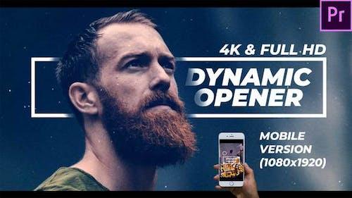 Dynamic Opener FullHD & 4K
