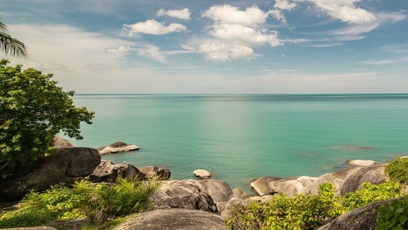 Thumbnail for Beautiful Rocky Beach and Sea in Samui, Thailand