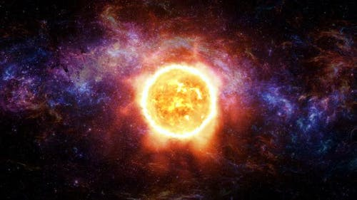 Sun And Galaxy