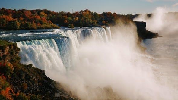 Thumbnail for Fall at Niagara Falls