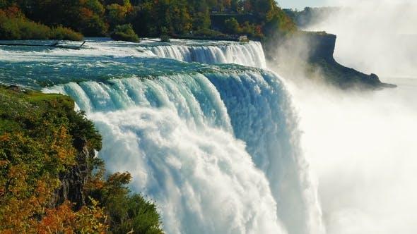 Thumbnail for The Famous Waterfall Niagara Falls