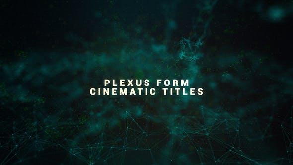 Thumbnail for Titres Cinématographique Plexus Form