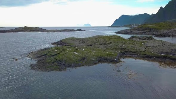 Thumbnail for Aerial View of Lofoten Coast