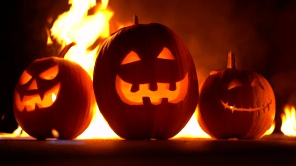 Terrifying Symbols of Halloween Jack-o-lanterns