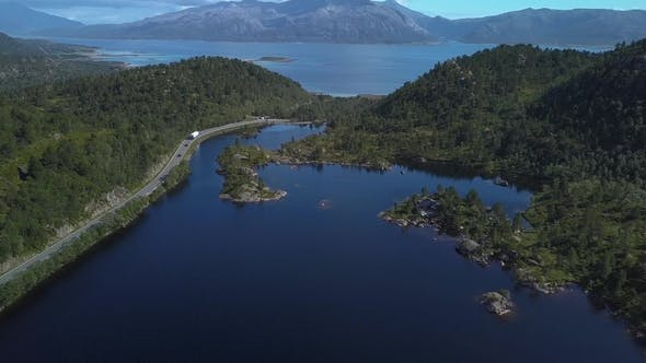 Thumbnail for Aerial View of Beautiful Nature Norway