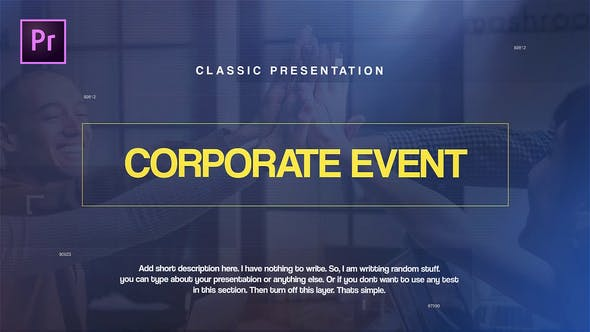 Thumbnail for Corporate Events