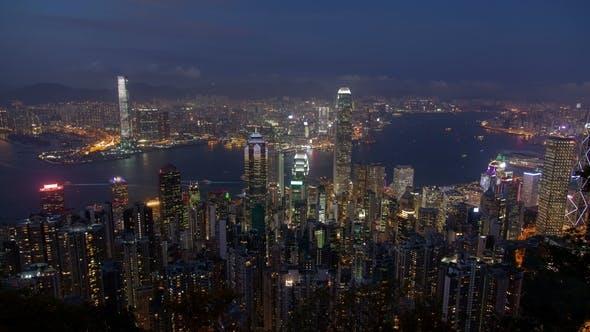Thumbnail for Busy Hong Kong at Night
