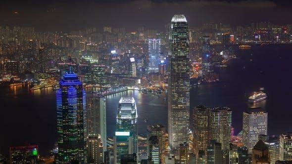 Thumbnail for of Hong Kong Skyline at Night