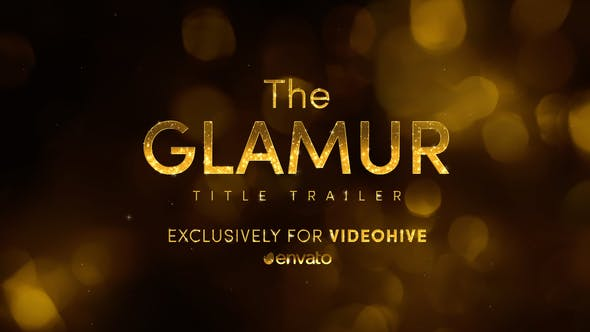 Thumbnail for The Glamur Title Trailer