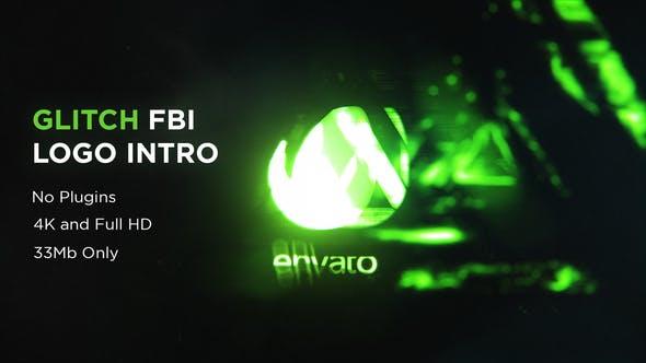 Thumbnail for Glitch FBI Logo Intro